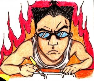 Takuma Caricature