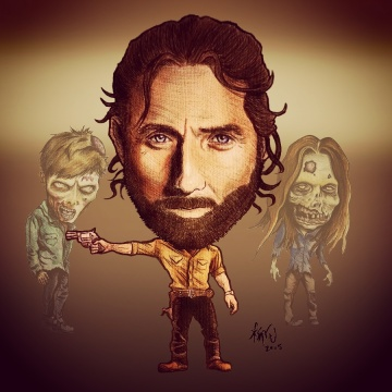 Rick Grimes (Andrew Lincoln) from The Walking Dead